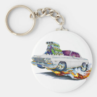 1962-63 Impala White Car Keychain