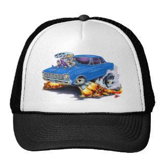 1962-65 Nova Blue Car Trucker Hat