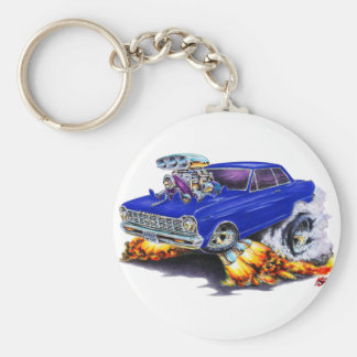 1962-65 Nova Dark Blue Car Keychain