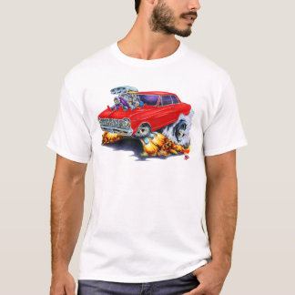 1962-65 Nova Red Car T-Shirt