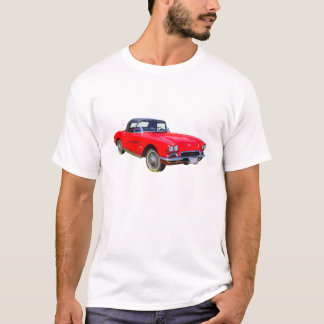 1962 Chevrolet Corvette Convertible Sports Car T-Shirt