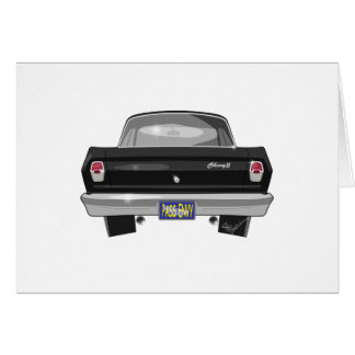 1962 Chevy II Card