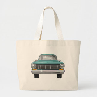 1962 Chevy II Large Tote Bag