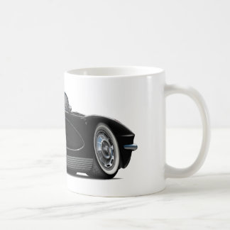1962 Corvette Black Convertible Coffee Mug