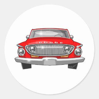 1962 Dodge Dart Classic Round Sticker
