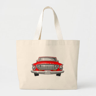 1962 Dodge Dart Large Tote Bag