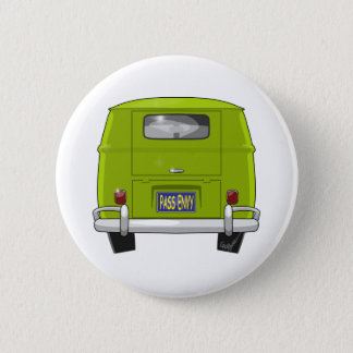 1962 Hippie Van 2 Inch Round Button