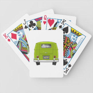 1962 Hippie Van Bicycle Playing Cards
