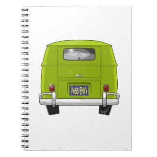 1962 Hippie Van Notebook