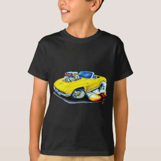1963-64 Corvette Yellow Convertible T-Shirt