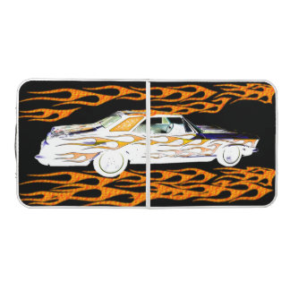 1963 BUICK RIVIERA WHITE ORANGE PONG TABLE