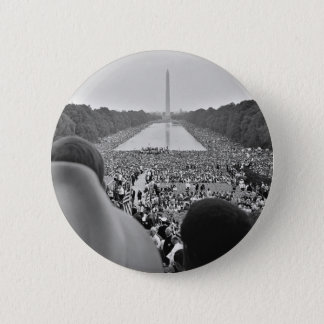 1963 Civil Rights March on Washington D.C. 2 Inch Round Button