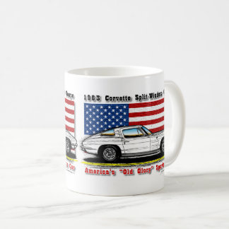 1963 Corvette Coupe Coffee Mug