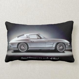 1963 Corvette Sting Ray Lumbar Pillow