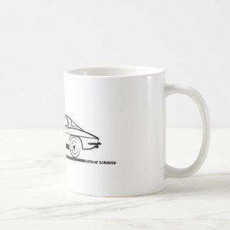 1963 Corvette Sting Ray Split Window Coupe Coffee Mug