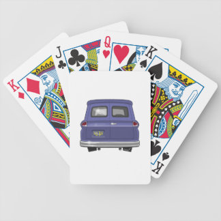 1963 GMC Chevy Panel Truck Bicycle Playing Cards