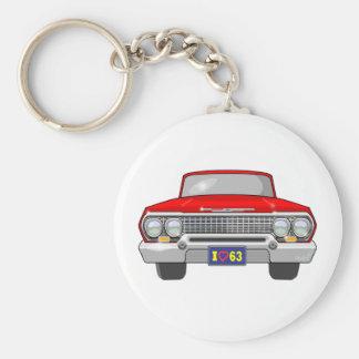 1963 I Love Chevrolet Keychain