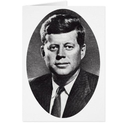 1963 In Memoriam, President Kennedy Greeting Cards