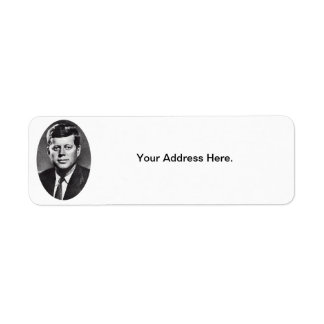 1963 In Memoriam, President Kennedy Return Address Label