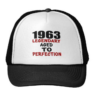 1963 LEGENDARY AGED TO PERFECTION TRUCKER HAT