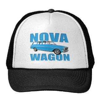 1963 longroof chevy II nova wagon Trucker Hat