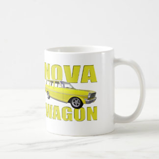 1963 nova chevy II wagon yellow Coffee Mug