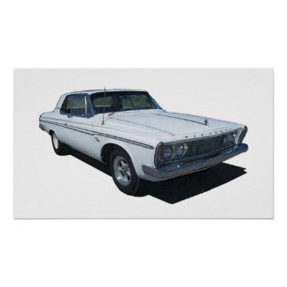 1963 Plymouth Coupe poster