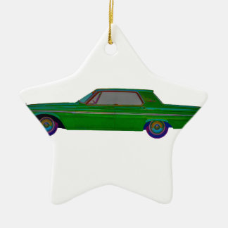 1963 Plymouth Fury Ceramic Ornament