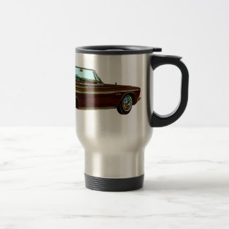 1963 Plymouth Sport Fury Travel Mug