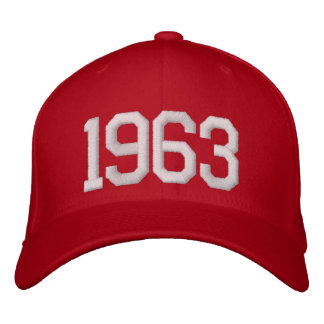 1963 Year Embroidered Hat