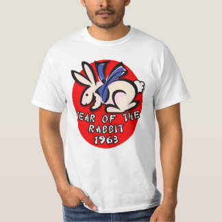 1963 Year of the Rabbit Apparel and Gifts T-Shirt