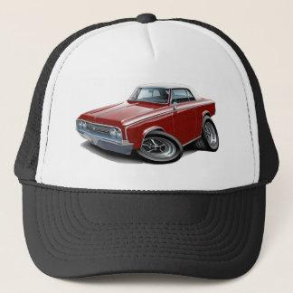 1964-65 Cutlass Maroon-White Car Trucker Hat
