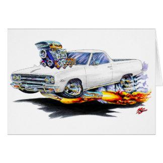 1964-65 El Camino White Truck Card