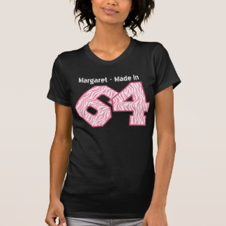 1964 Birthday 50th Year or Any Year ZEBRA V48 T-Shirt