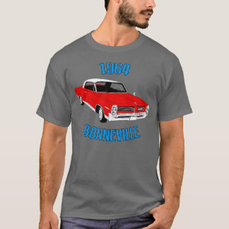 1964 Bonneville (red) T-shirt