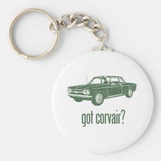 1964 Chevrolet Corvair Basic Round Button Keychain