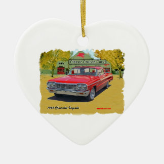 1964_Chevrolet_Impala Ceramic Ornament
