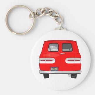 1964 Corvair Greenbrier Basic Round Button Keychain