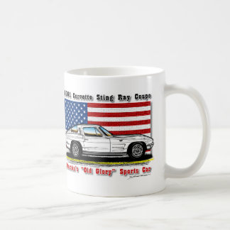 1964 Corvette Coupe Coffee Mug