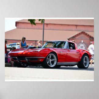 1964 Corvette Poster