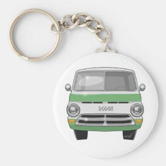 1964 Dodge Van Basic Round Button Keychain