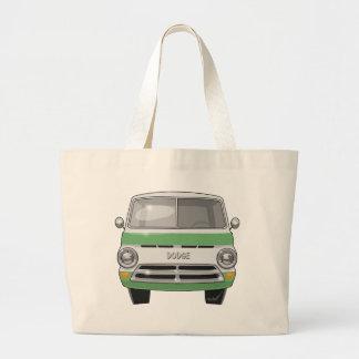1964 Dodge Van Large Tote Bag