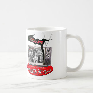 1964 Great Alaskan Earthquake ~ Fireball XL5 Coffee Mug