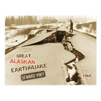 1964 Great Alaskan Earthquake Postcard