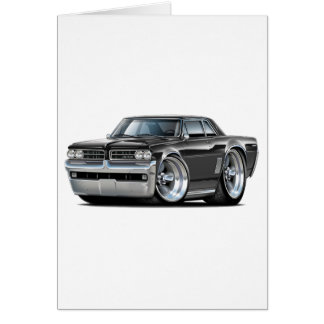 1964 GTO Black Car Card