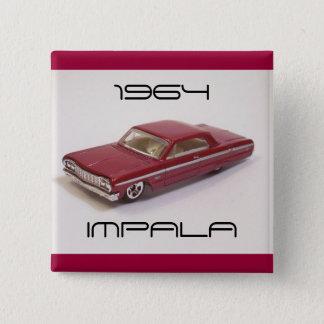 1964 Impala 2 Inch Square Button