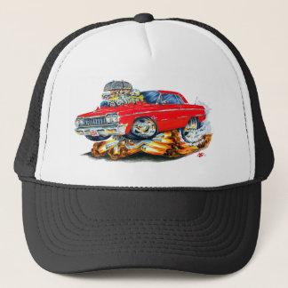 1964 Impala Red Car Trucker Hat