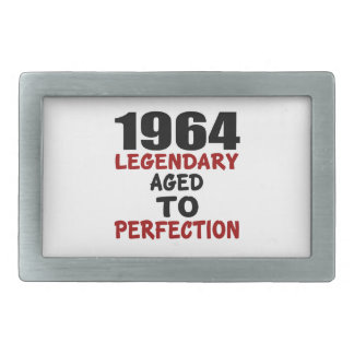 1964 LEGENDARY AGED TO PERFECTION BELT BUCKLES