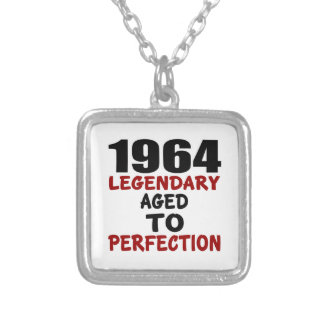 1964 LEGENDARY AGED TO PERFECTION SILVER PLATED NECKLACE