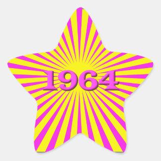 1964 STAR STICKER